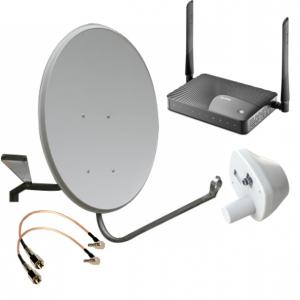 Комплект беспроводного интернета, усиление 3g/4g сигнала