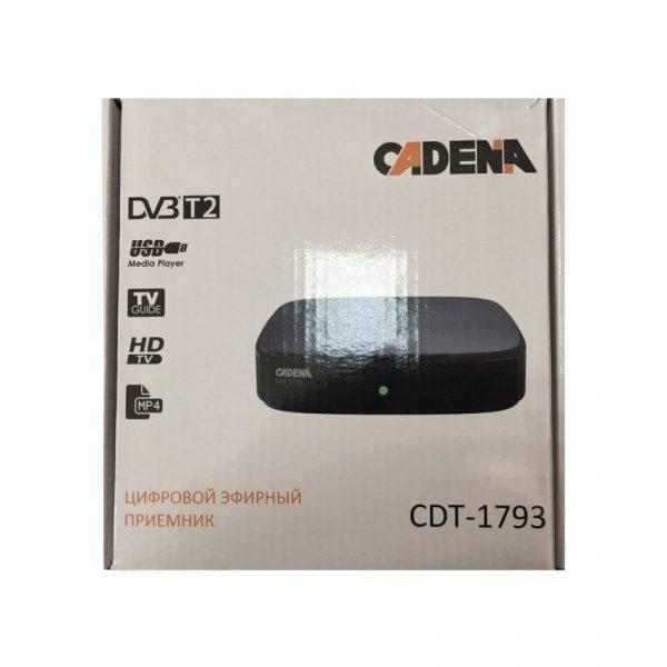 Приемник цифровой эфирный CADENA CDT-1793