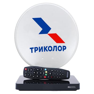 Комплект «Триколор ТВ» на 1 ТВ с Ultra HD ресивером GS B527