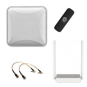 Беспроводной Интернет. Стандартный комплект усиления 3G/4G/LTE.