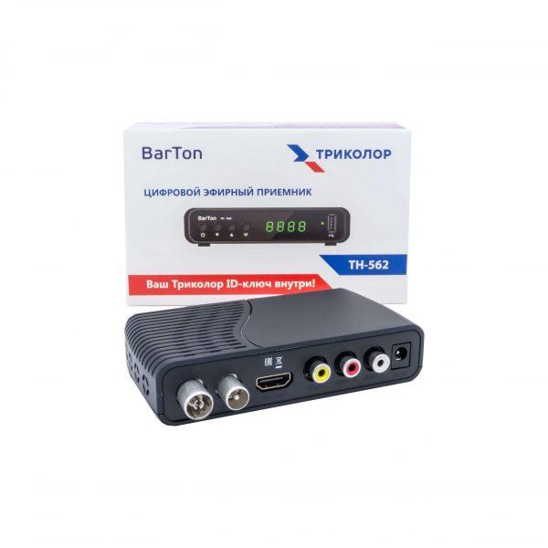 Цифровой эфирный DVB-T2 приёмник Barton TH-562
